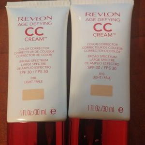 New Revlon Age Defying CC Cream 010 Light